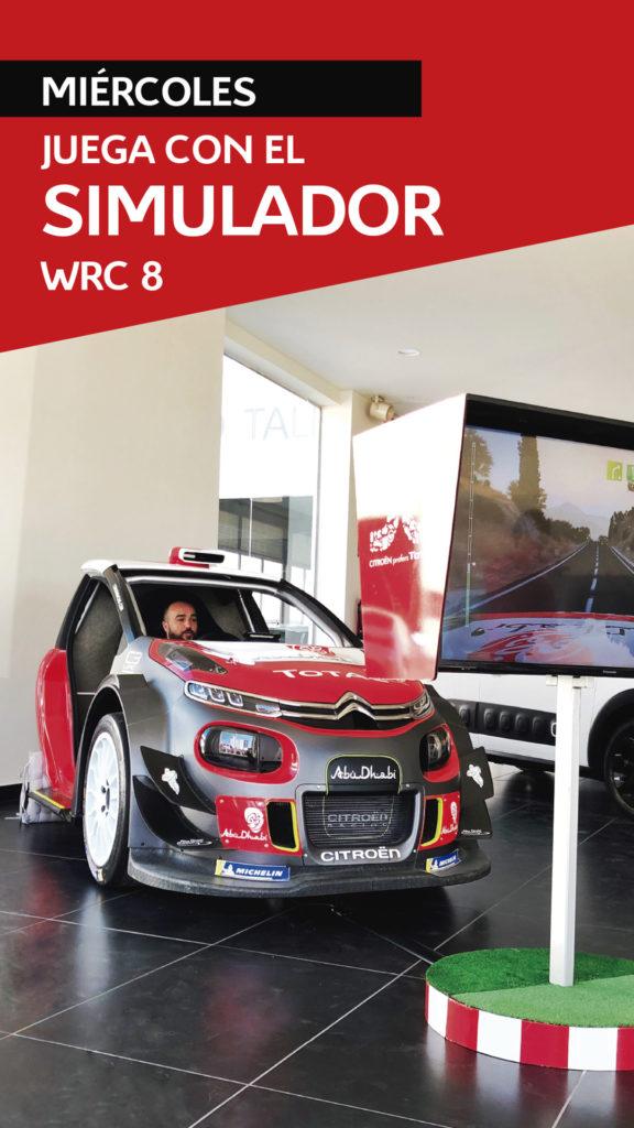 Simulador WRC 8