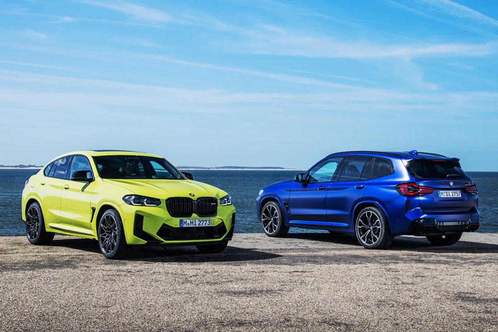 BMW X3M X4M