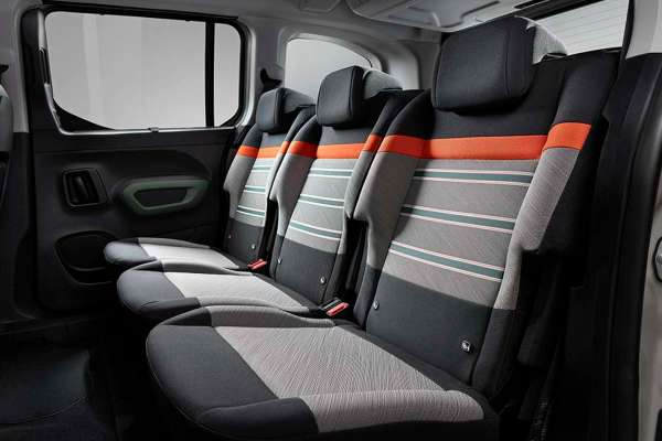 Asientos furgoneta Citroën