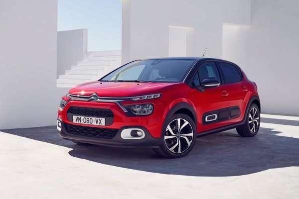 Citroën coche rojo