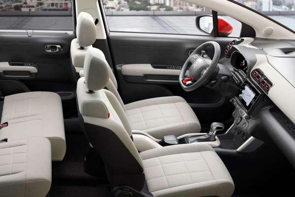 Asientos blancos Citroën