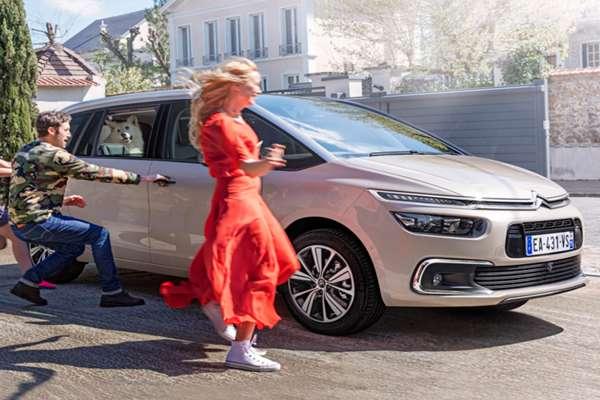 Coche Citroën familiar