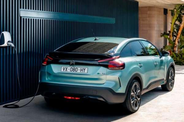 Citroën eléctrico parte trasera