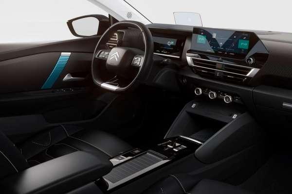 Citroën interior parte delantera