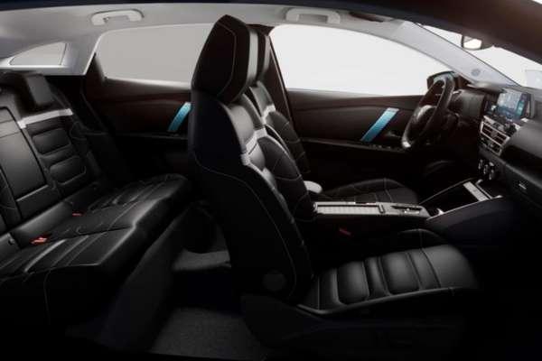 Nuevo Citroën e C4 interior