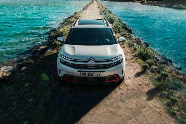 Modelo Citroën techo