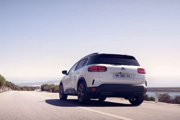 Citroën parte trasera