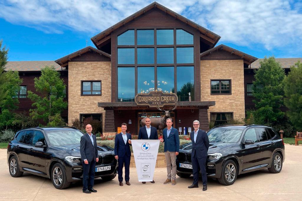BMW Oliva Motor firma un acuerdo con PortAventura World